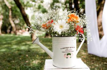 Flores por temporada en Argentina: cómo incluirlas en tu casamiento