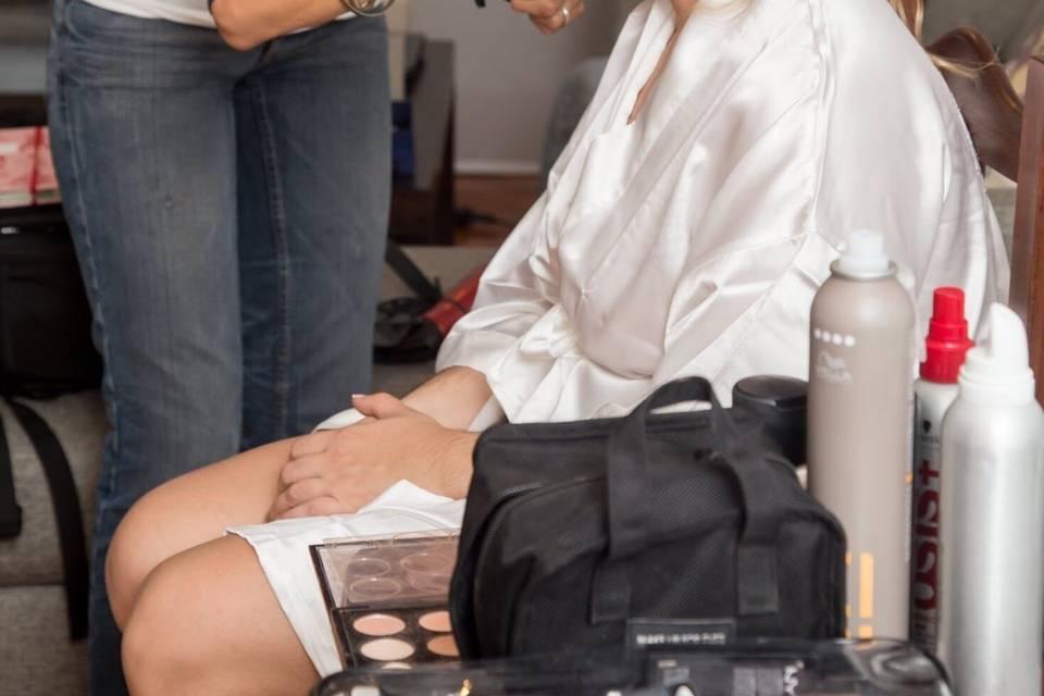 Velvet Maquillaje y Peinado 14