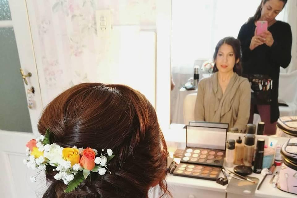 Velvet Maquillaje y Peinado 11