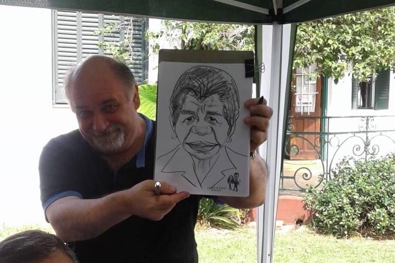 Caricaturas en Fiestas 18