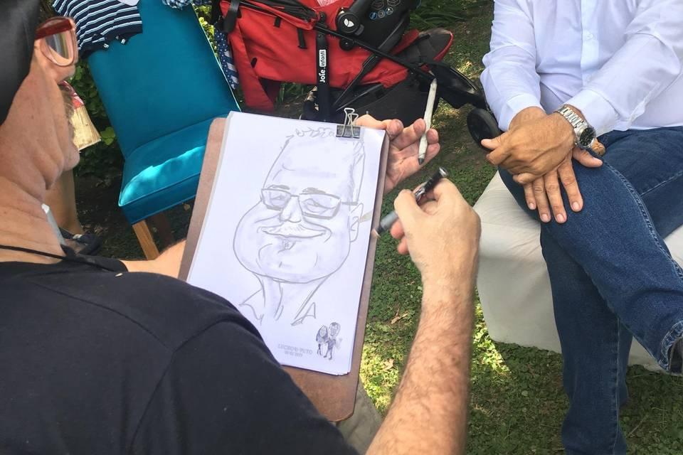 Caricaturas en Fiestas 21