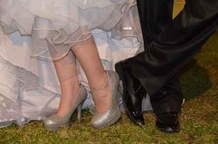 Zapatos especiales para una ocasion especial!