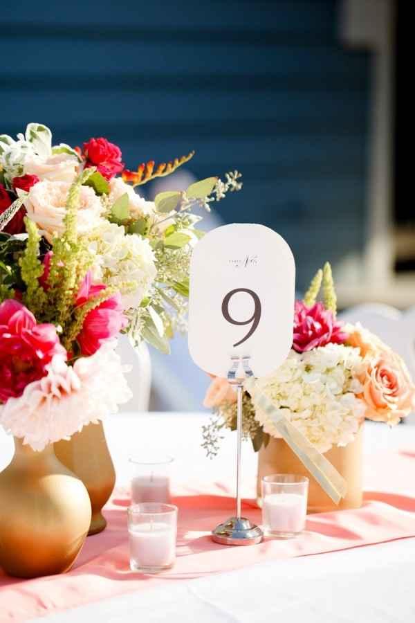 Mesas! con mas flores