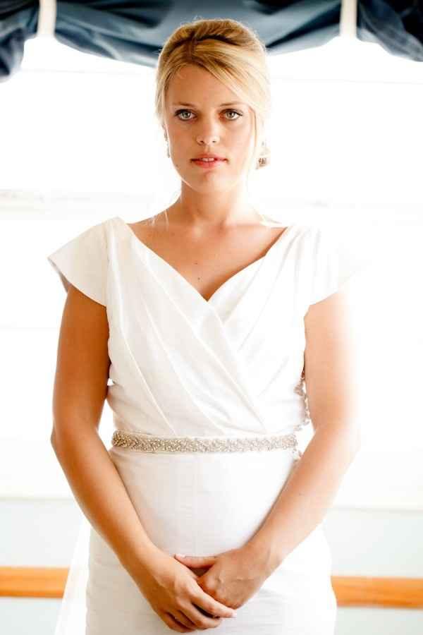 El vestido de la novia