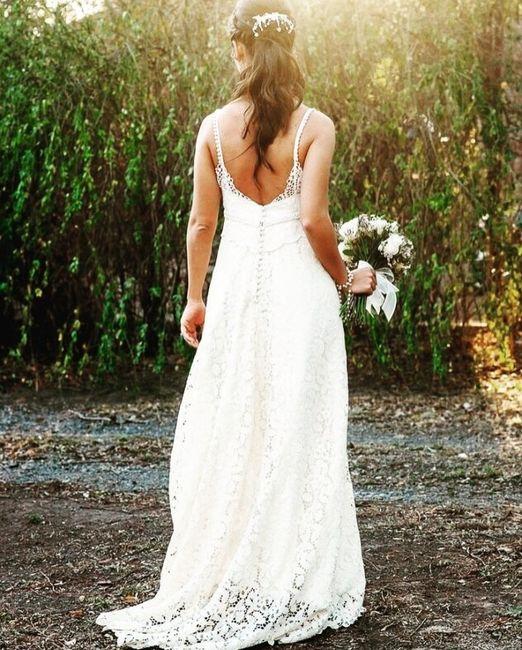 Vestido de novia y traje del novio 1