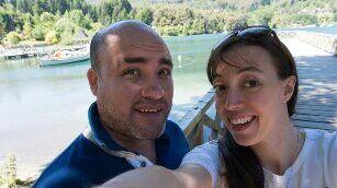 Naty y Feña, nuestro destino de luna de miel fue Bariloche 1