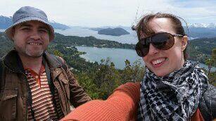 Naty y Feña, nuestro destino de luna de miel fue Bariloche 2