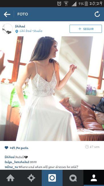 Vestido de novia; les gusta? - 1