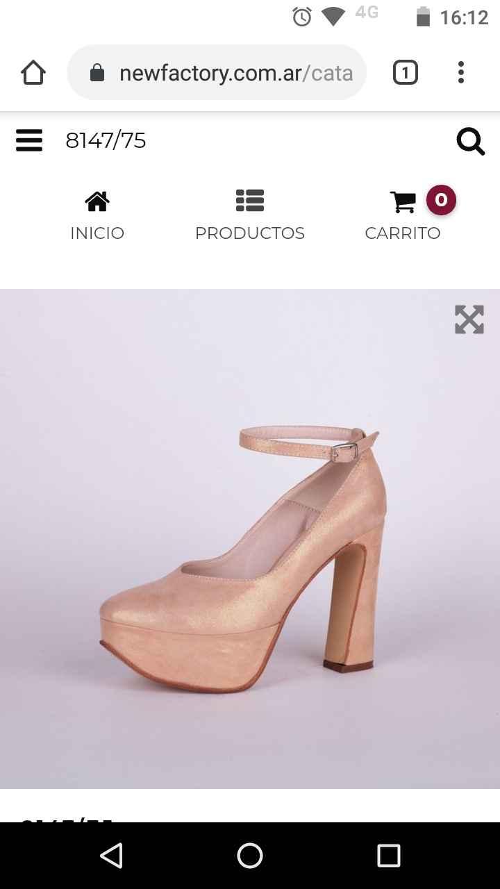 Catálogo de zapatos de la Comunidad 21