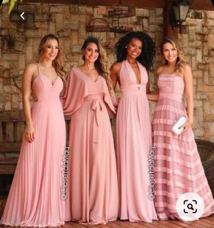 Vestidos Damas de Honor en el mes rosa 🌺 - 1