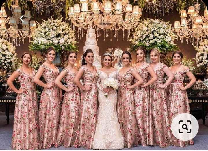 Vestidos Damas de Honor en el mes rosa 🌺 - 2