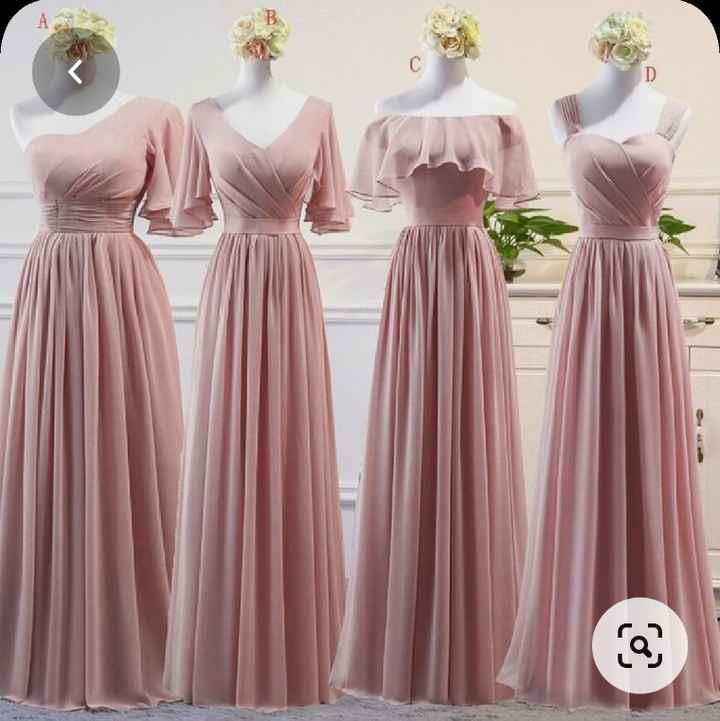 Vestidos Damas de Honor en el mes rosa 🌺 - 3