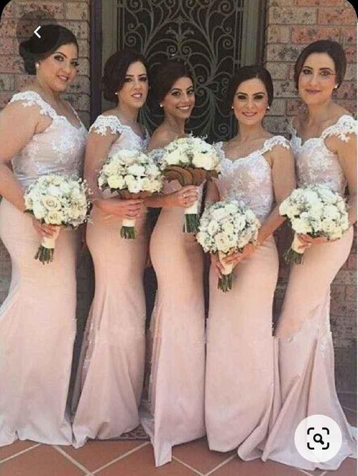 Vestidos Damas de Honor en el mes rosa 🌺 - 4