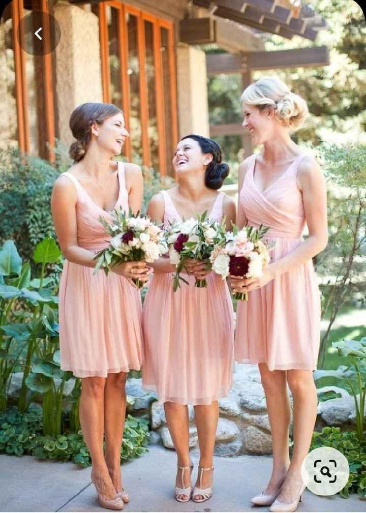Vestidos Damas de Honor en el mes rosa 🌺 - 5