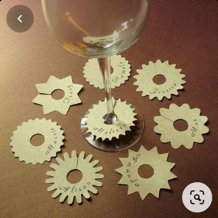 Señaladores de copas - 1