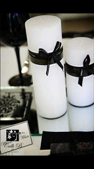 Boda blanco y negro - 1