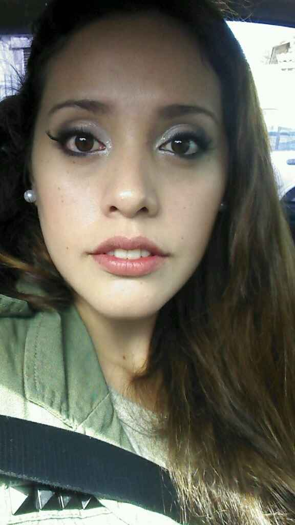 Mi prueba de peinado y make-up ! - 2