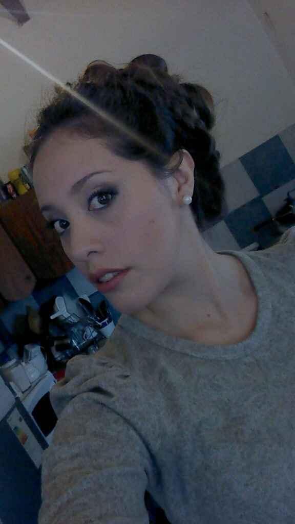 Mi prueba de peinado y make-up ! - 3
