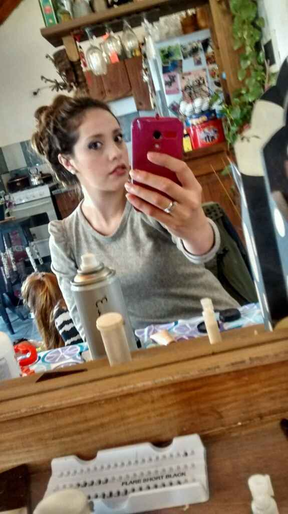Mi prueba de peinado y make-up ! - 5