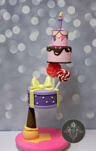 Mis ideas para el cake topper - 5