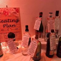seating plan temática de bebidas
