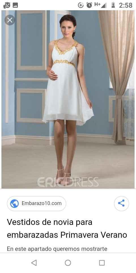 Help! vestido de civil pero con pancita - 2
