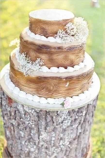 Torta estilo rustico
