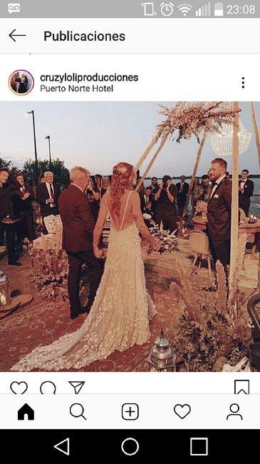 María Cecilia mi casamiento en 3 imágenes - 2