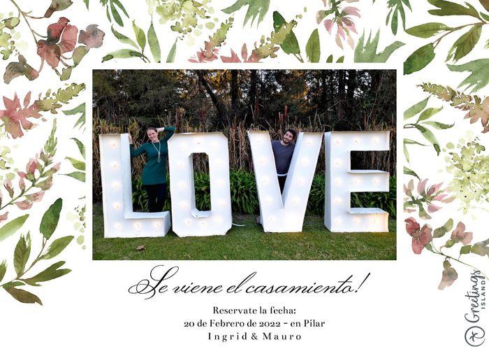 Novios que nos casamos el 20 de Febrero de 2022 en Buenos Aires 2
