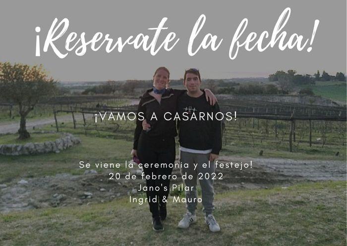 Novios que nos casamos el 20 de Febrero de 2022 en Buenos Aires 1