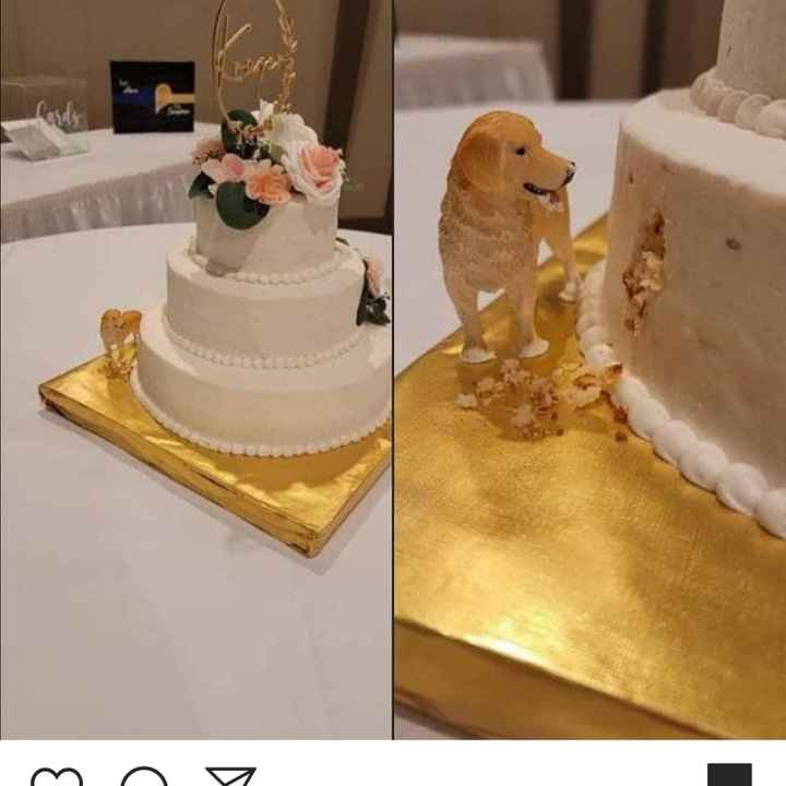 ¿Muñequitos en su torta de novios? - 1