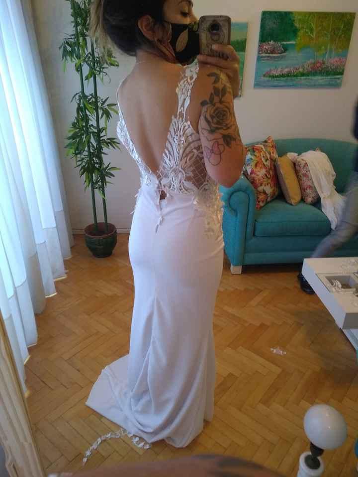 Primer prueba de vestido - 1