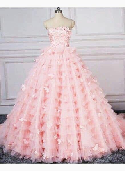 Inspiración vestidos rosa 1