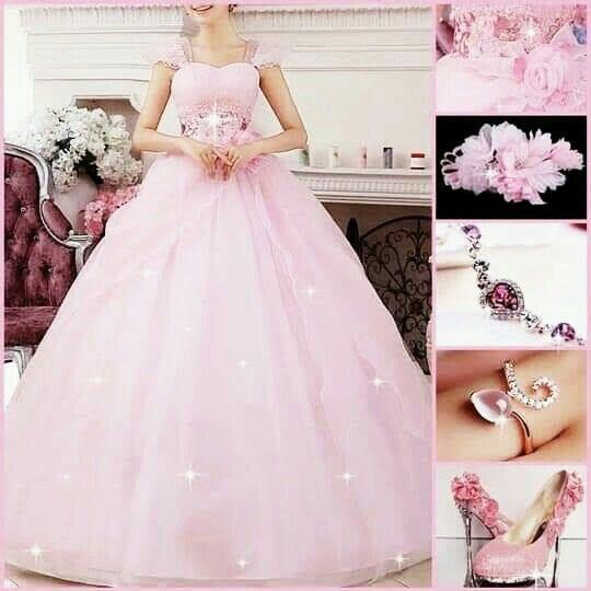 Inspiración vestidos rosa 2