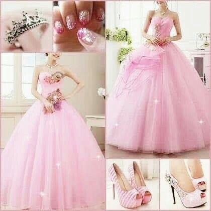 Inspiración vestidos rosa 3
