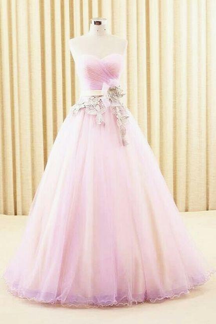 Inspiración vestidos rosa 4