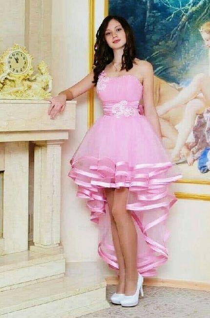 Inspiración vestidos rosa 5