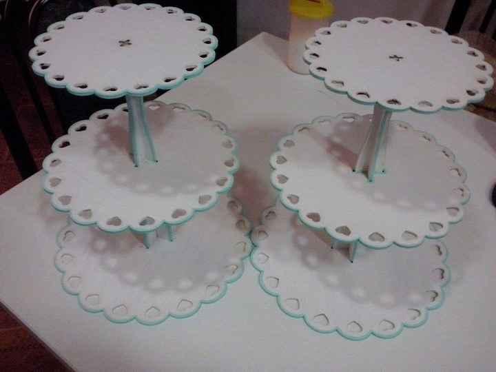 Los portacupcakes finales!!