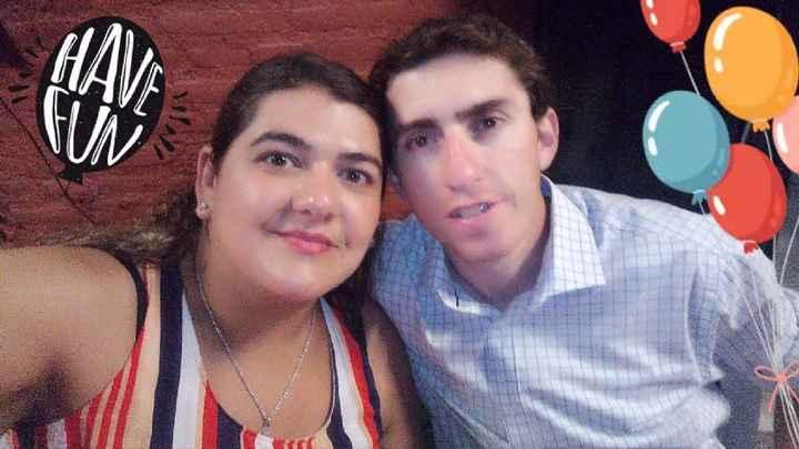 Melisa y José, nuestro calendario de amor. - 1