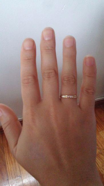 777a8c3df5f5 Mi anillo de compromiso!