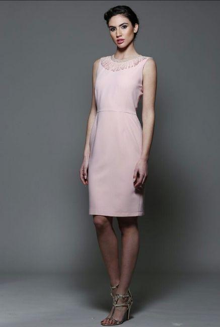 Vestidos para boda civil rosa