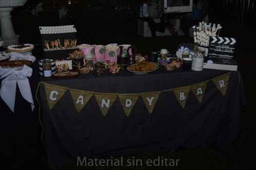 mesa del candy completa