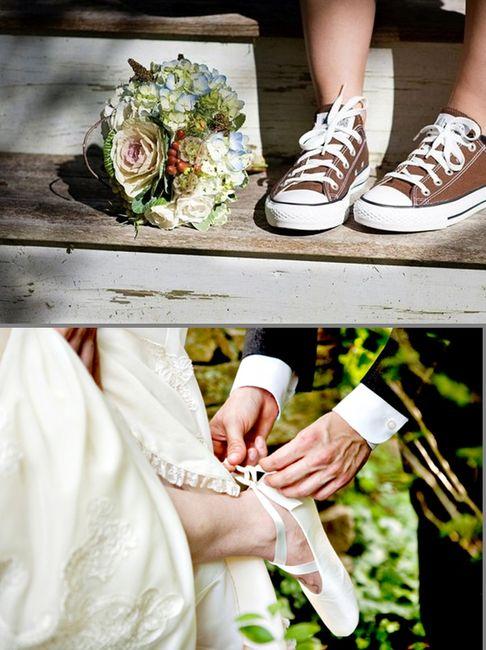 Calzado cómodo para el casamiento