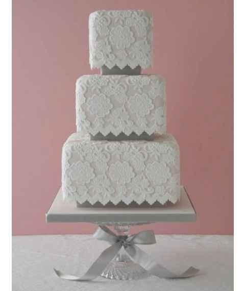 Tendencias en tortas de casamiento 2015 - 1