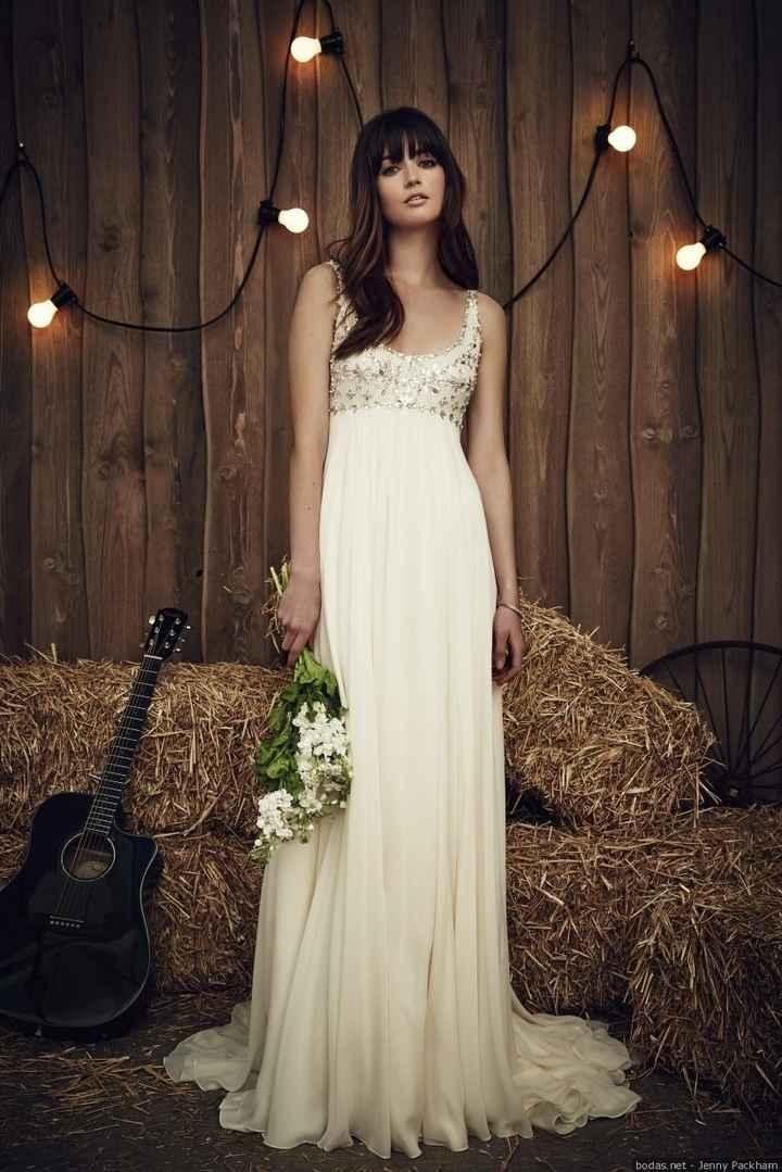 Vestidos de novias para embarazadas - 1