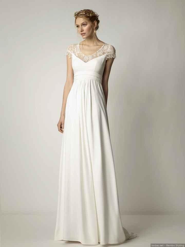 Vestidos de novias para embarazadas - 2