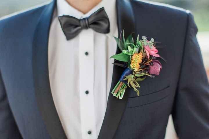 Look de novio: ¿corbata o pajarita? - 1