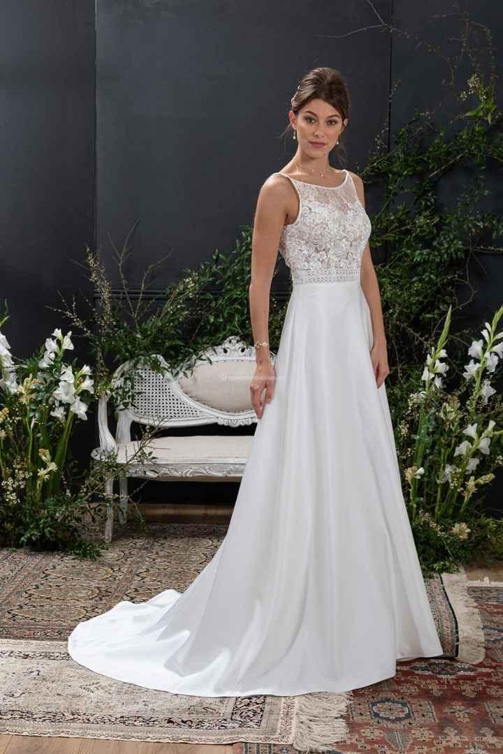 Vestidos 2021 para casamientos íntimos - 1