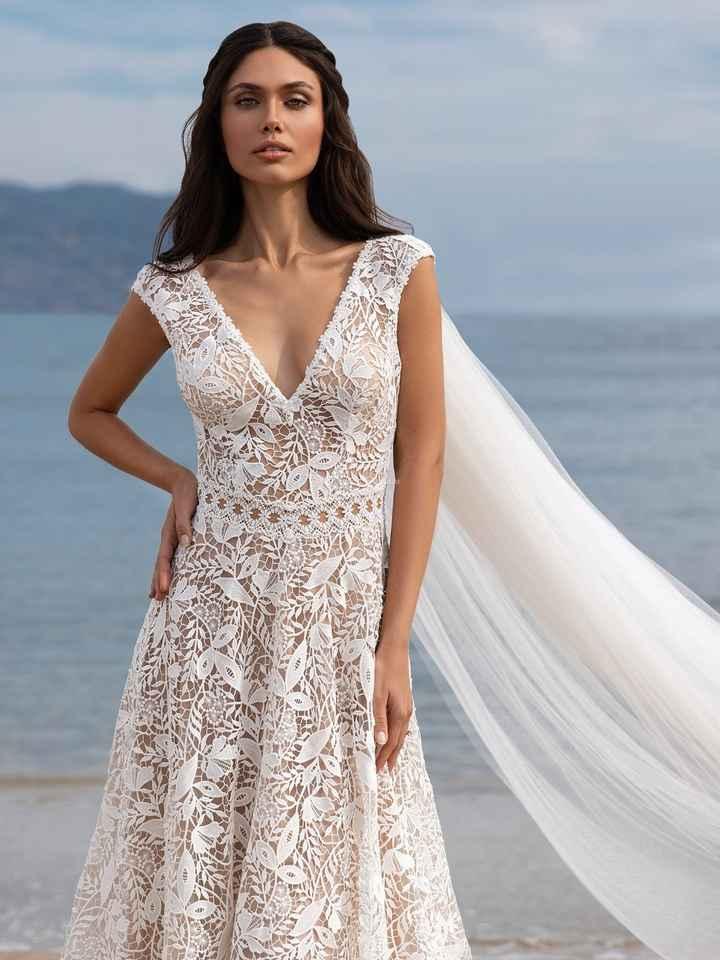 Vestidos 2021 para casamientos íntimos - 2