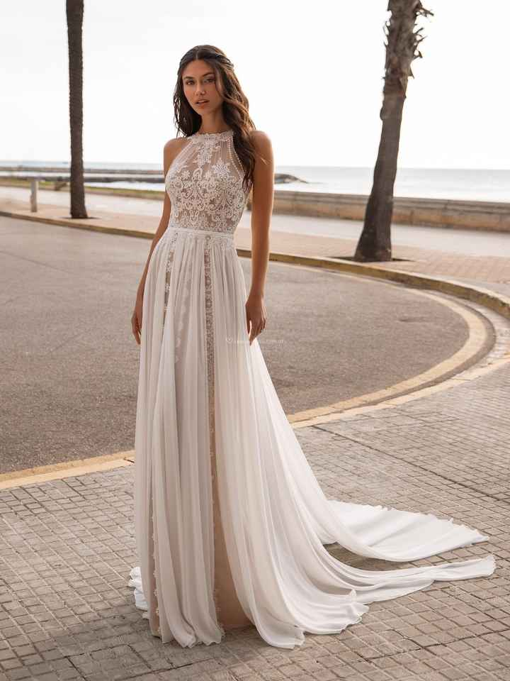 Vestidos 2021 para casamientos íntimos - 3